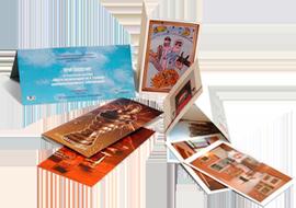 ae81616f12564 Печать открыток в Москве на заказ в типографии - изготовление ...